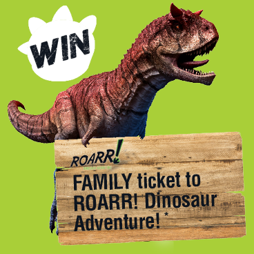 Win a Roarr!-some Prize this Easter!